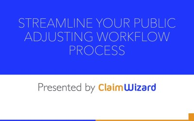 Streamlining The Client Onboard Process For Public Adjusters