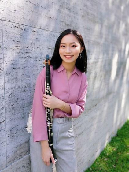 旅美單簧管演奏家–映伶老師,桃園中壢學單簧管的最好選擇