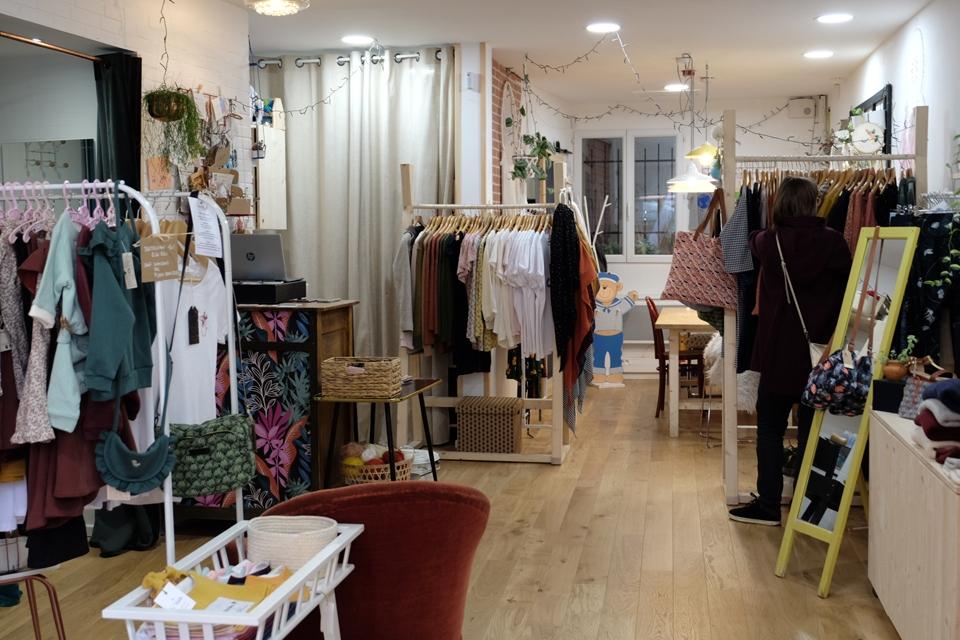 Une boutique atelier dans le centre-ville de Toulouse