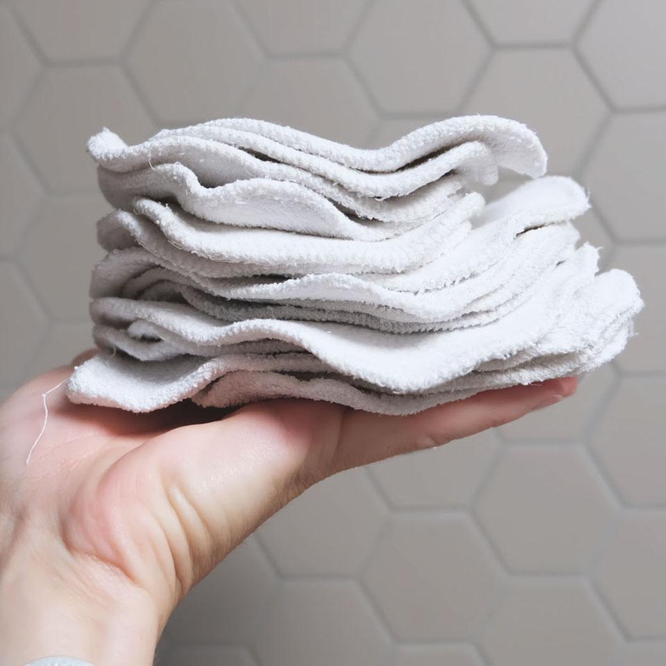 Choisir ses cotons lavables et les entretenir
