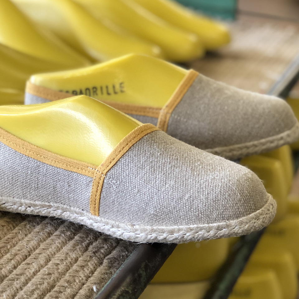 L'espadrille en lin made in France