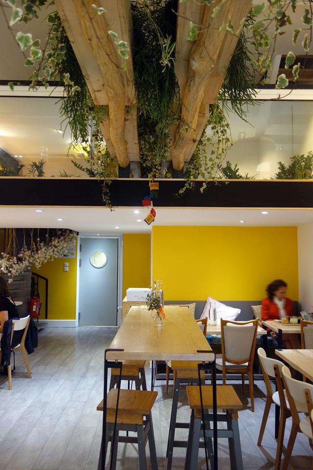 Une ambiance chaleureuse dans ce restaurant vegan à Toulouse