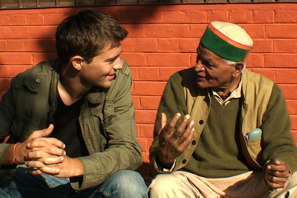 Marc le réalisateur et Satish Kumar