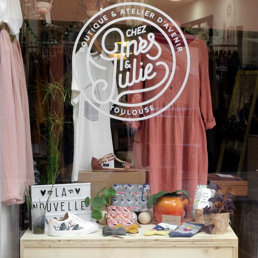 Chez Ines et Julie, une boutique de mode éthique à Toulouse