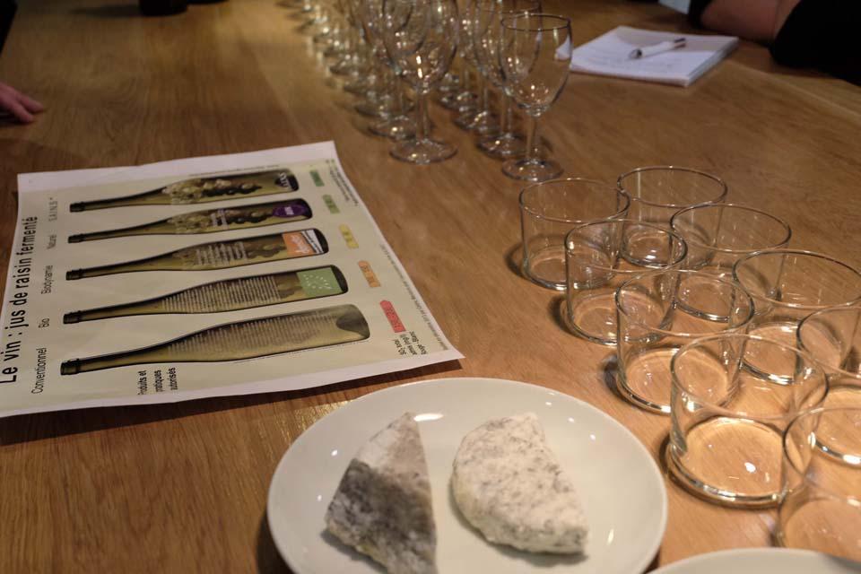 Soirée dégustation vins bio bio dynamiques naturels