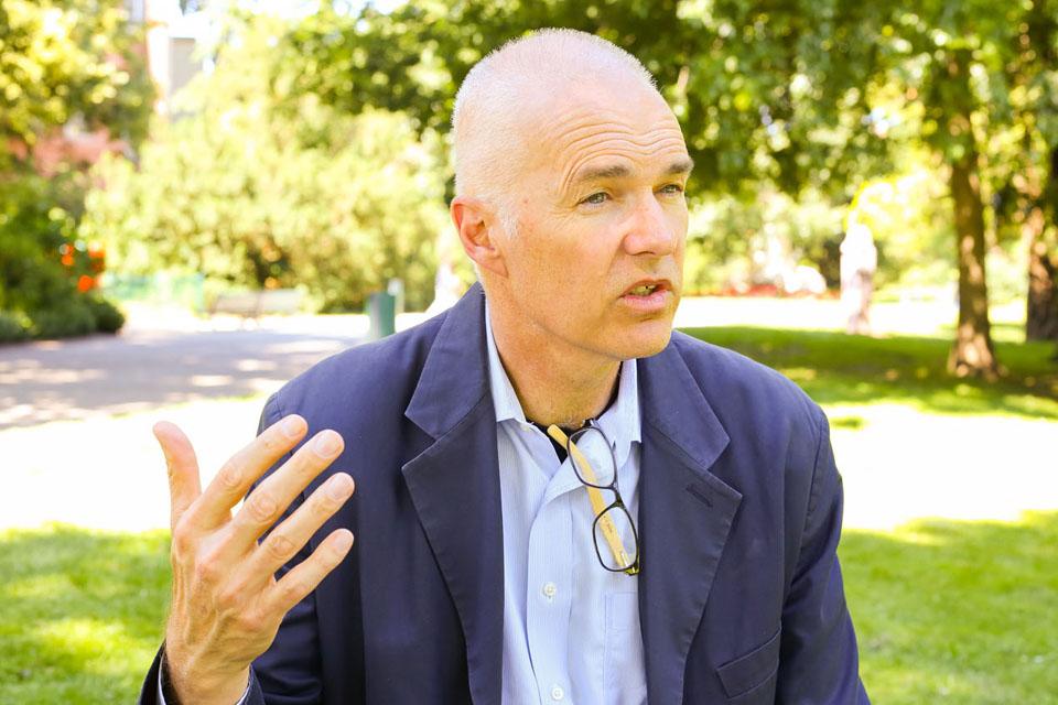 Entretien avec Robert Reed au sujet de San Francisco