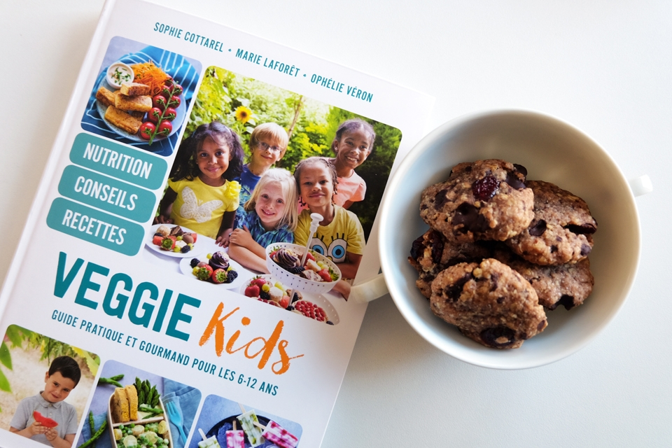 Le livre Veggie Kids, guide de cuisine végétale pour les 6-12 ans