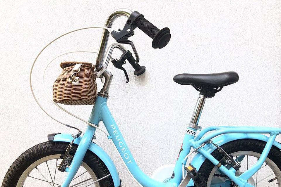 Un joli vélo enfant trouvé en seconde main