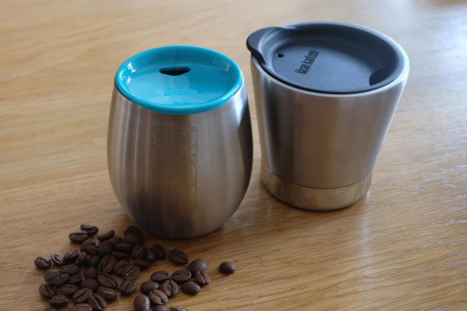 Toute une gamme de mugs isothermes