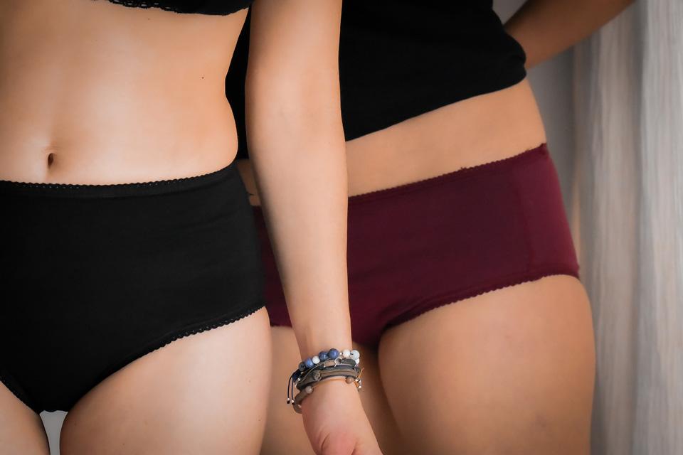 Duo de culottes menstruelles par Dans Ma Culotte
