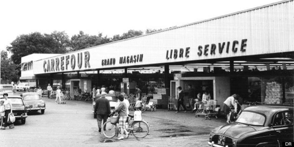 Le supermarché, temple de la consommation