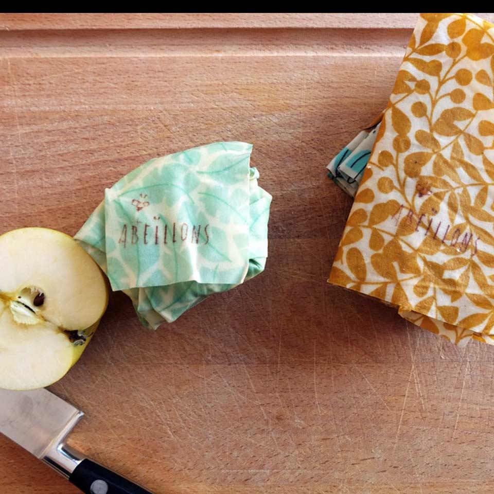 Les bees-wraps pour remplacer le plastique