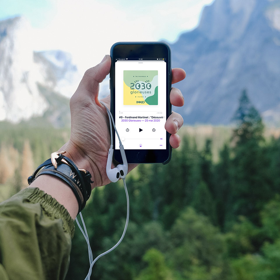 Sélection de podcast sur l'écologie