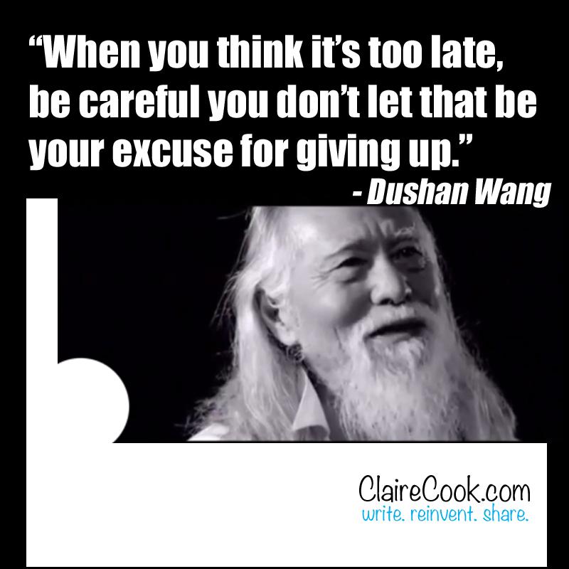 Dushan Wang quote