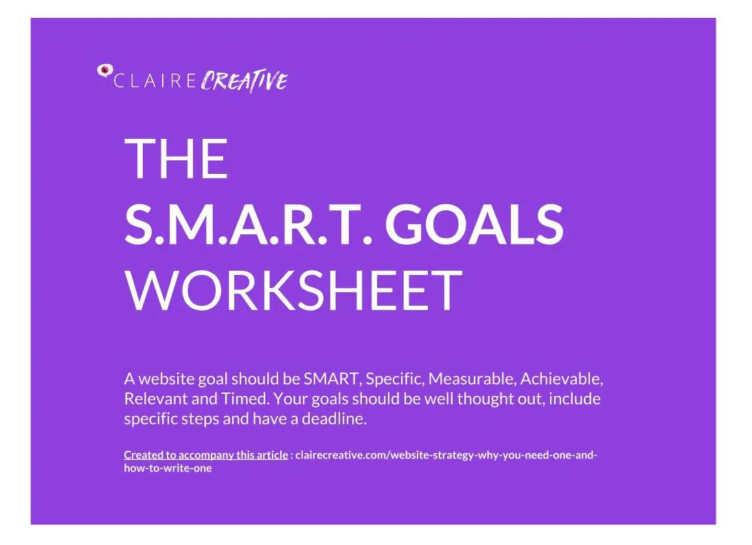 Digital Strategy Worksheets