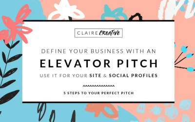 """So, what do you do?"" 5 steps to your perfect elevator pitch"