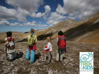 trekking con bambini