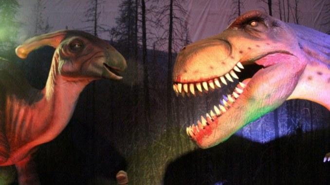 Mostra dinosauri a Roma
