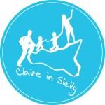 logo di claireinsicily blog di viaggi e vacanze in sicilia con i bambini