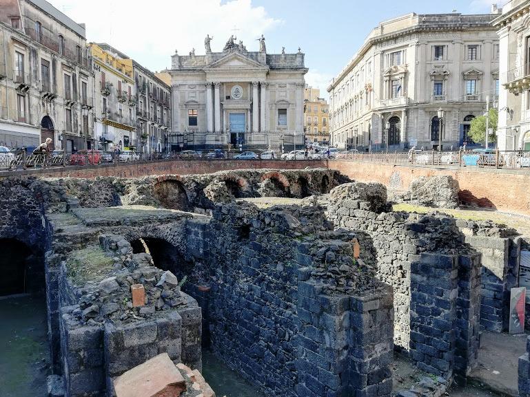 anfiteatro romano di Catania