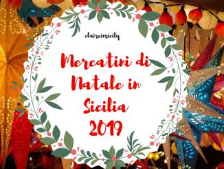mercatino di natale in Sicilia