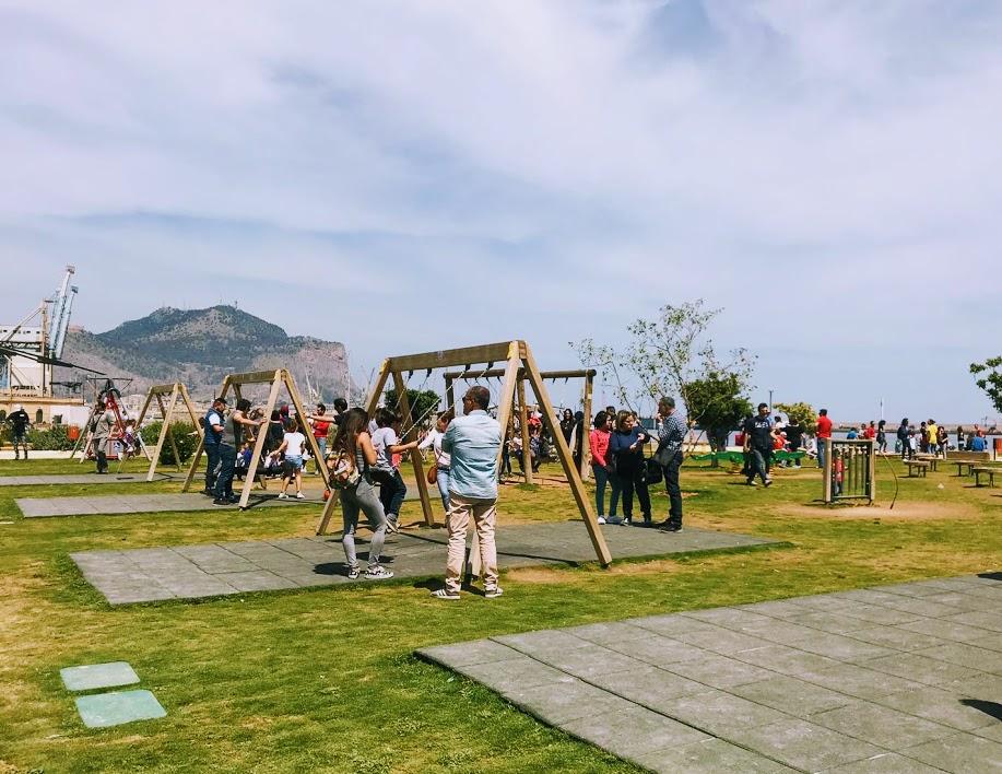 parco della salute tappa ideale per vedere palermo con i bambini