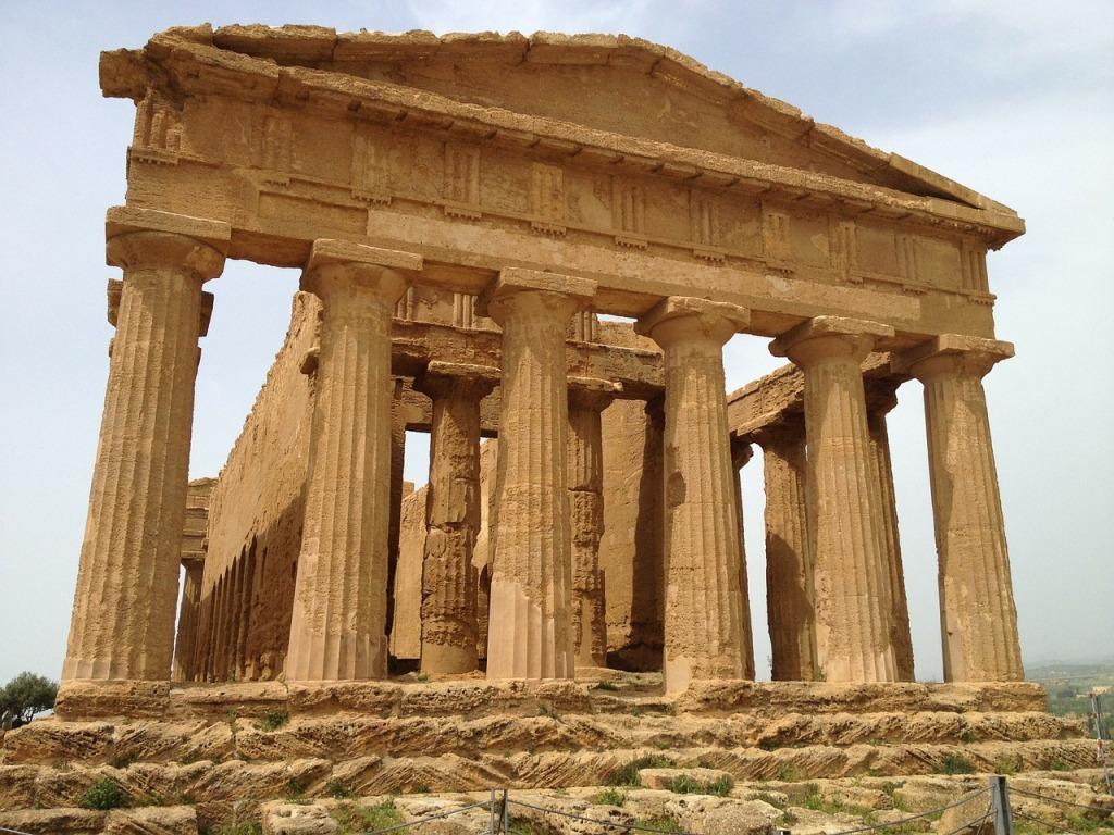 Valle dei templi Agrigento in Sicilia