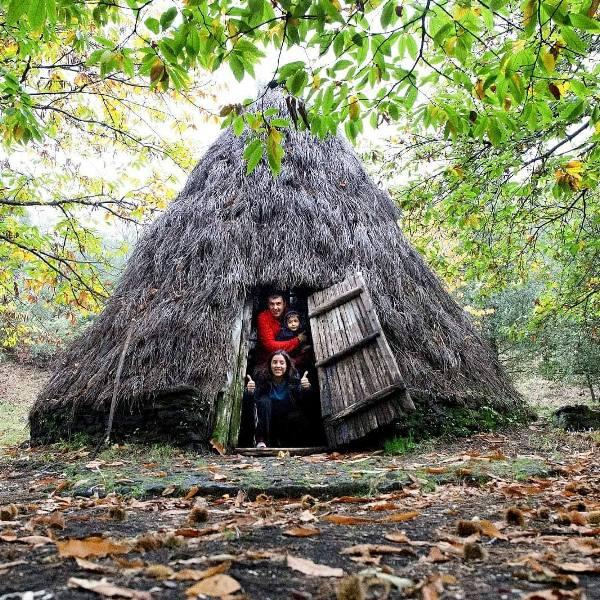 capanna nel rifugi sull etna piano bello