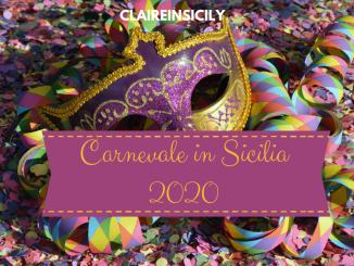 carnevale in Sicilia 2020