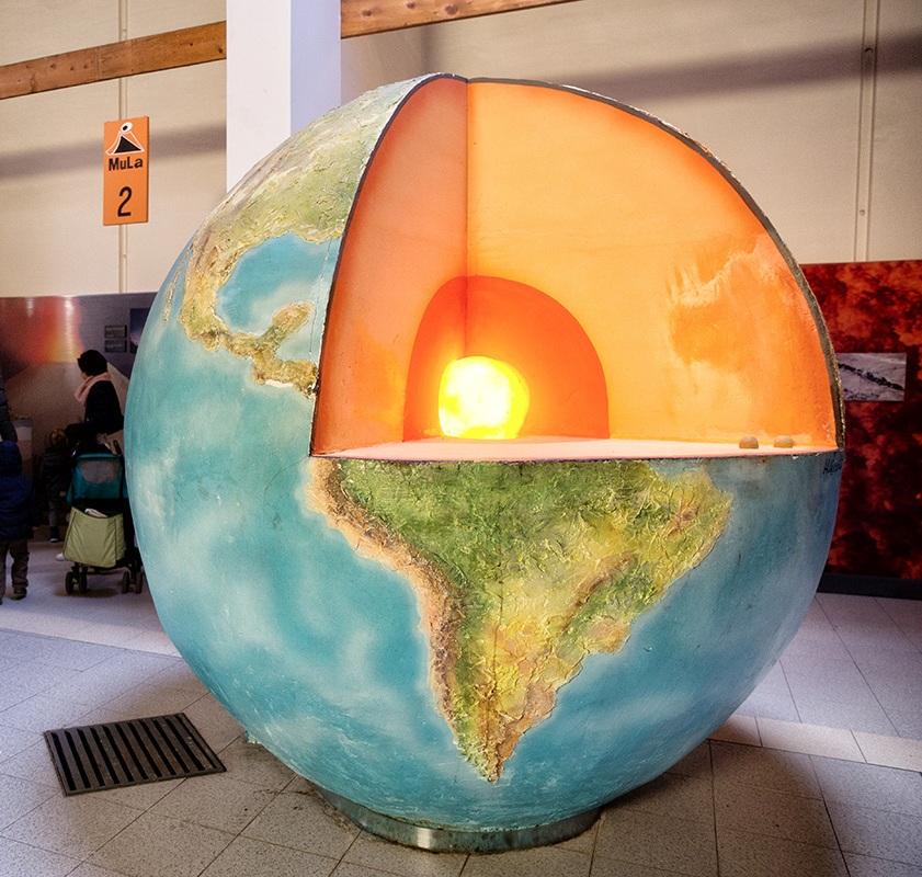esposizione al museo della lava