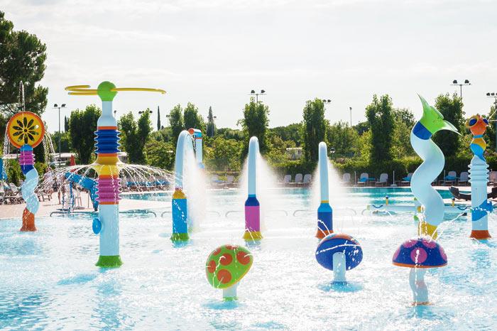 Parco acquatico presso le Gole dell'Alcantara ideale per i bambini