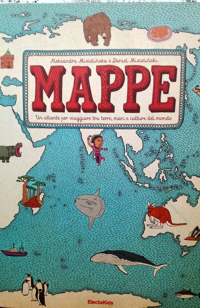 copertina di Mappe un libro di viaggio per bambini