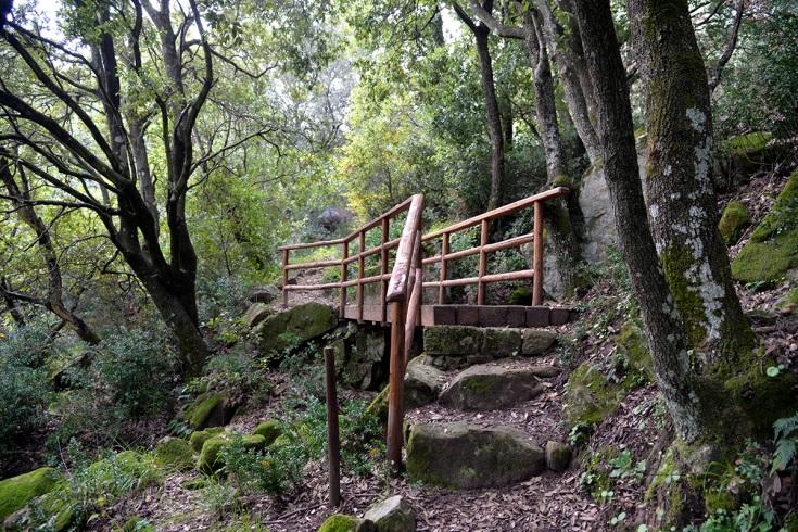 inizio del sentiero del Monte Altesina in provincia di Enna