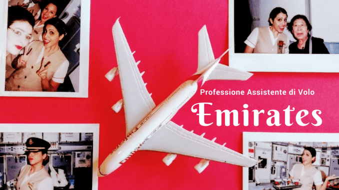 assistente di volo Emirates