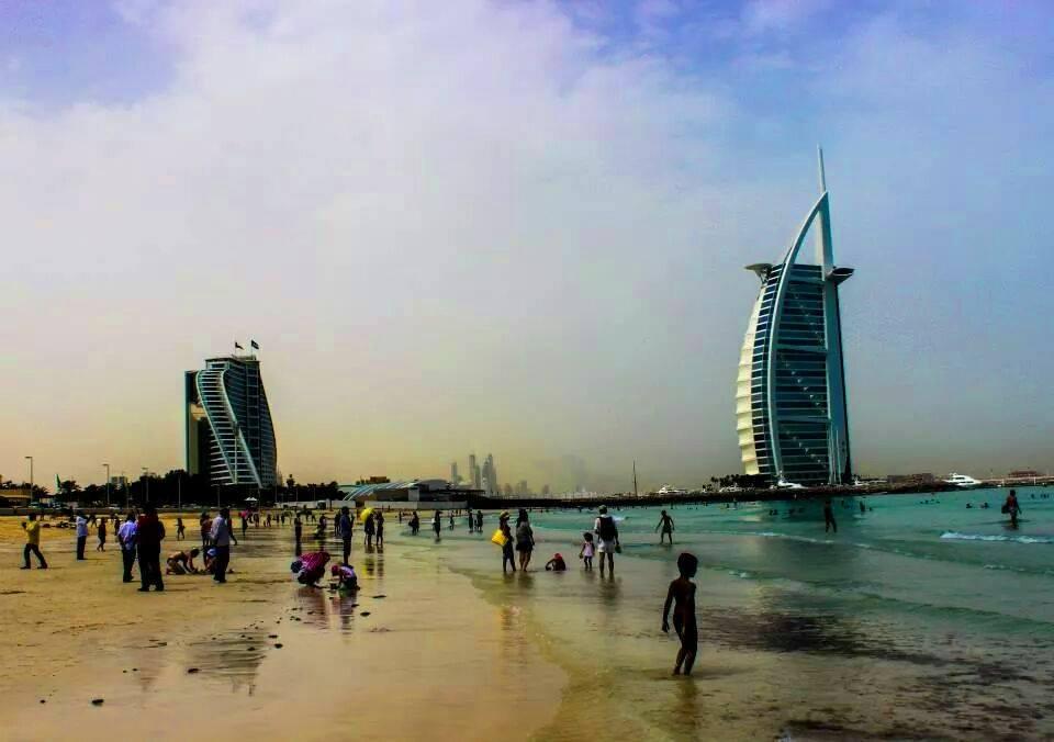 Dubai e la sua spiaggia