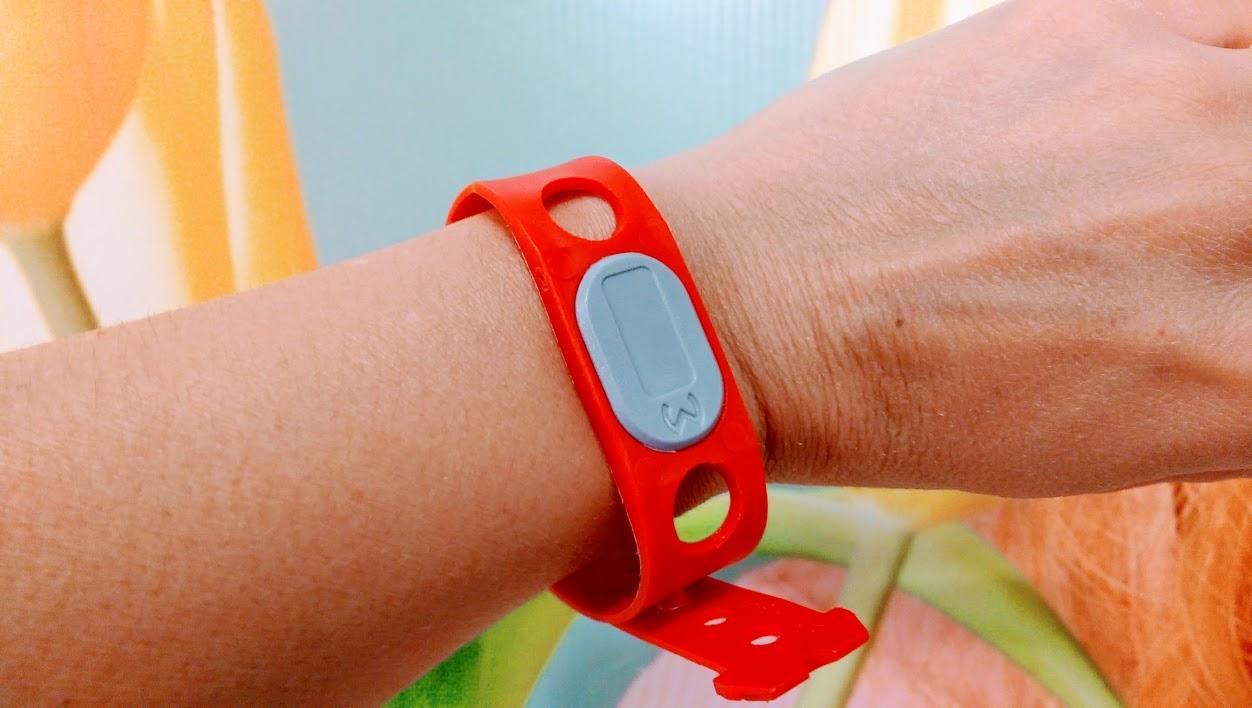 braccialetto elettronico per le terme in slovenia