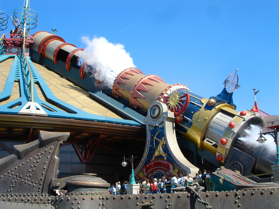Discoveryland a Disneyland Paris