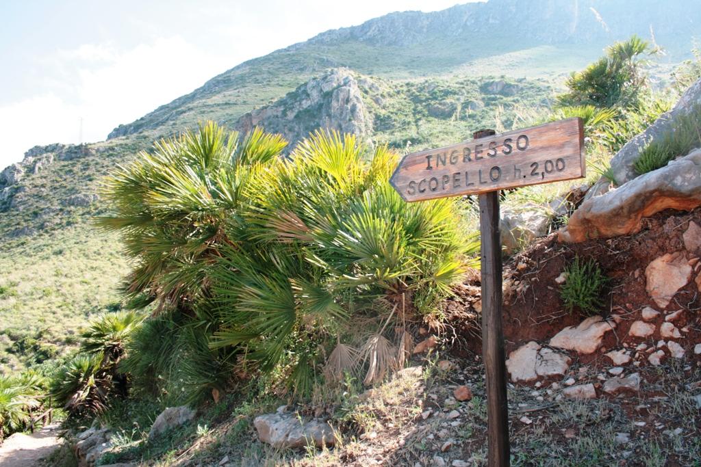 visitare la riserva dello zingaro con i bambini itinerario verso scopello