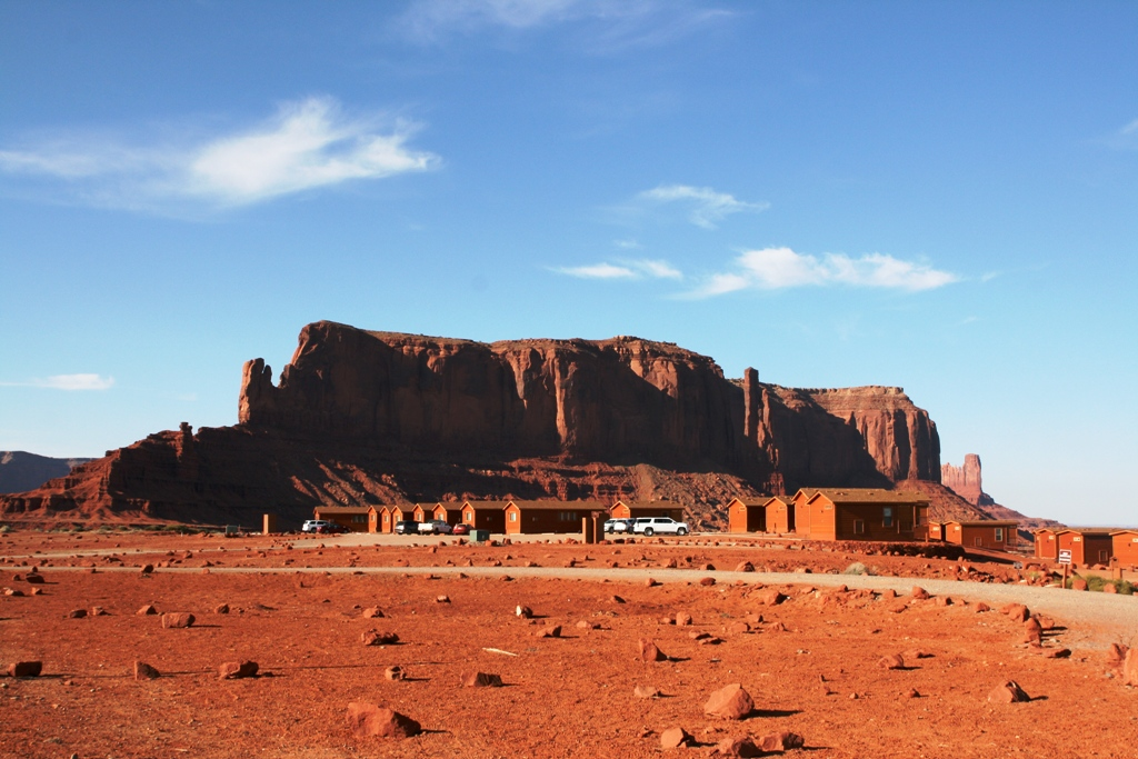 campeggio Monument Valley