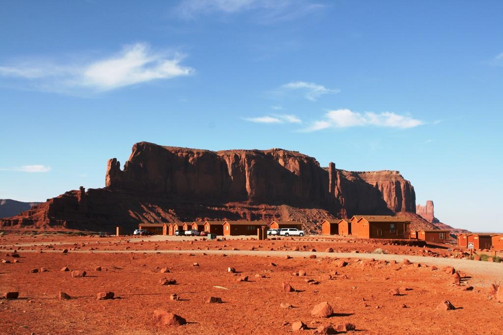 campeggio Monument Valley