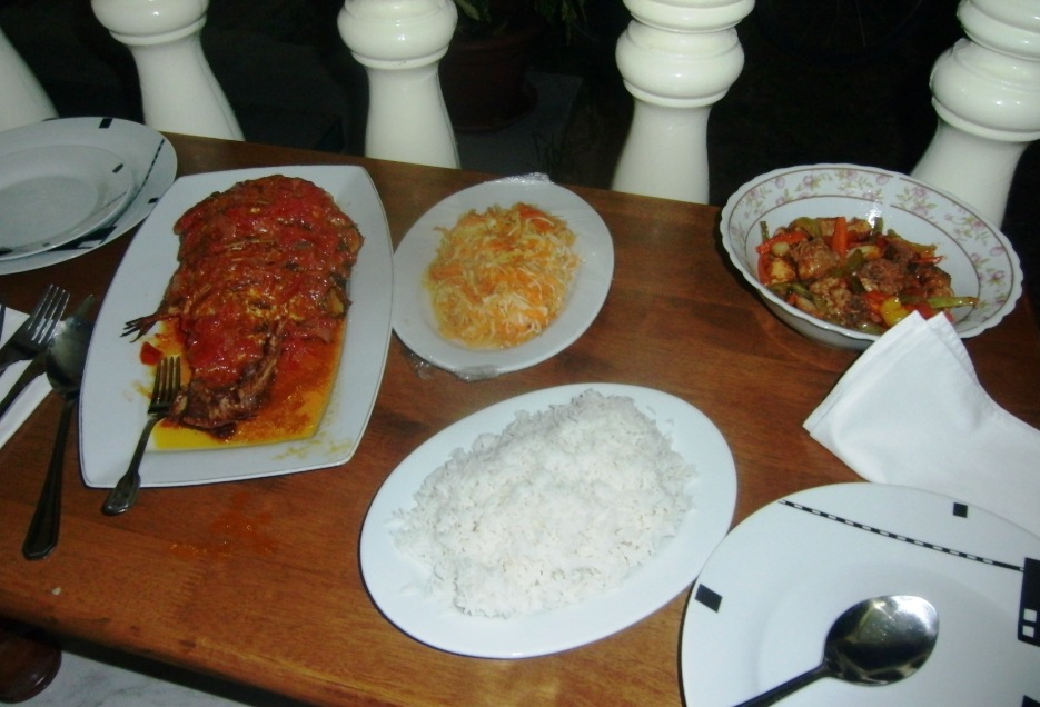 tipica cena creola alle Seychelles
