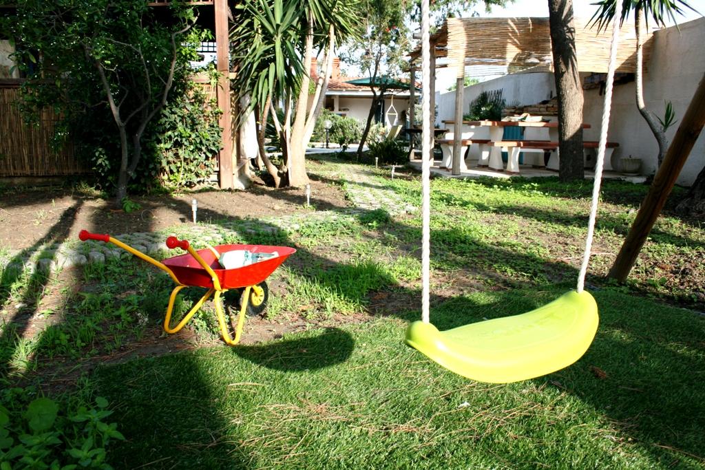 area giochi in una casa vacanze a Agrigento