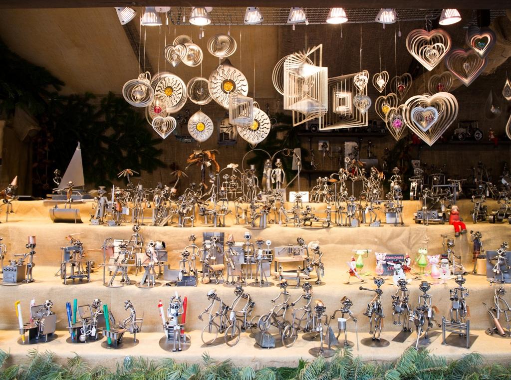oggetti di artigianato aimercatini di natale in germaniadi Esslingen