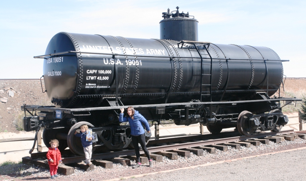 treno sulla route 66