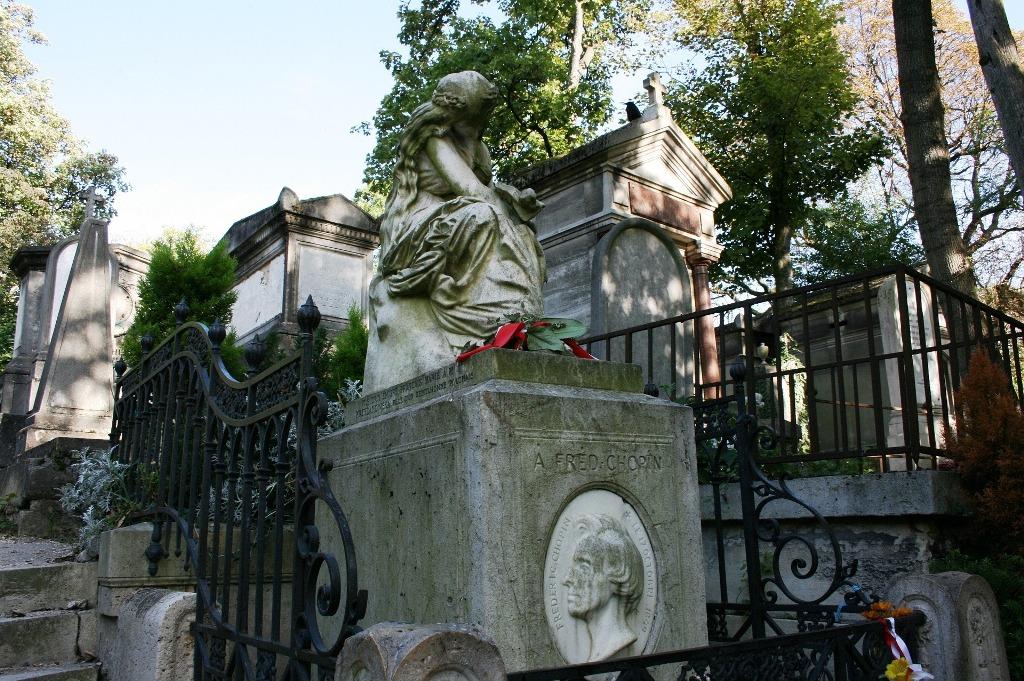 cimitero di Père Lachaise a Parigi