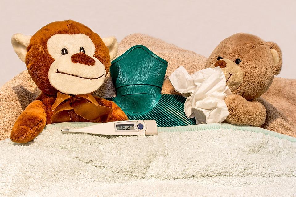 assicurazione viaggio bambini-febbre
