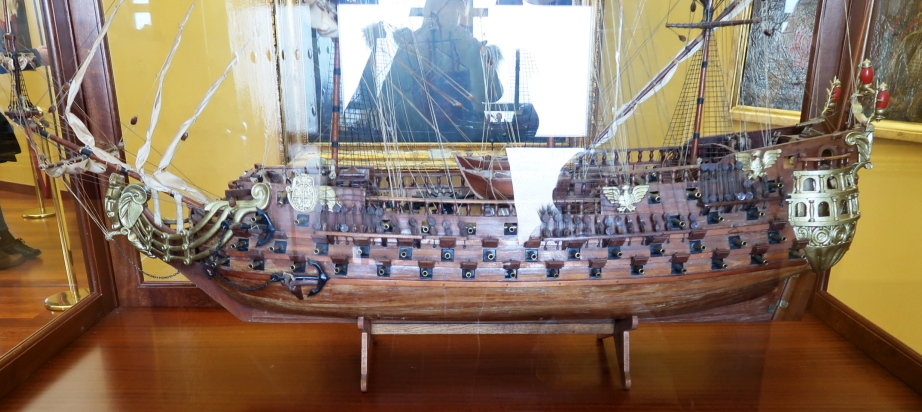 modello nave a Siviglia