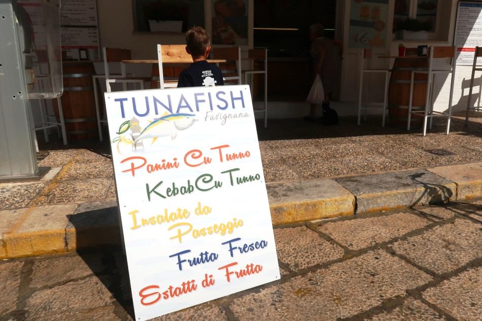 street food a Favignana