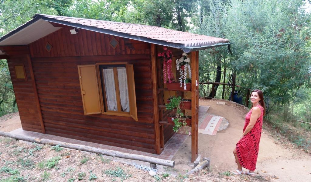 chalet nel bosco in Calabria