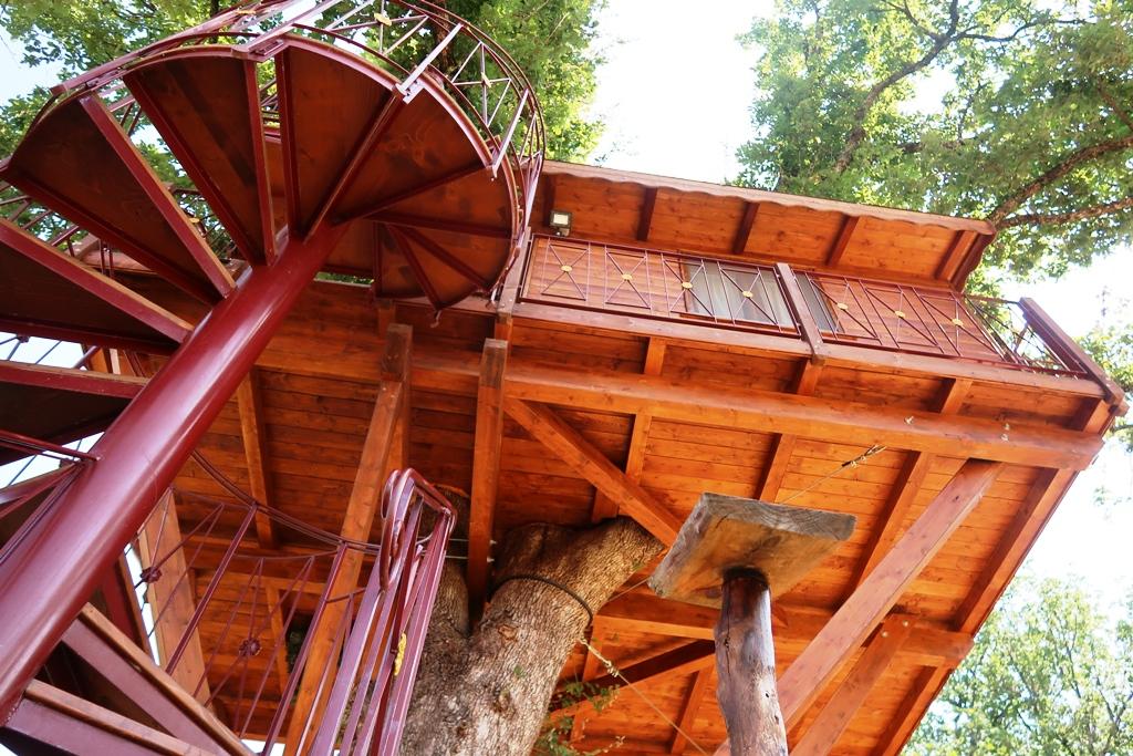 scala casa sull'albero in Calabria